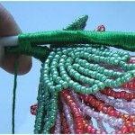 Майстер-клас плетіння орхідеї з бісеру