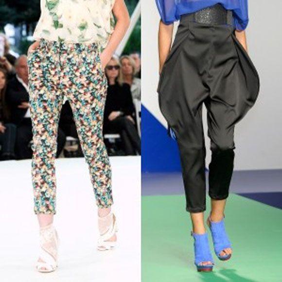 укорочені брюки галіфе