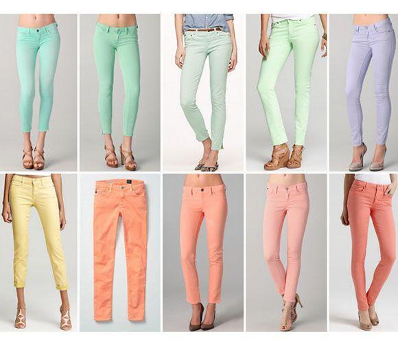 пастельні джинси
