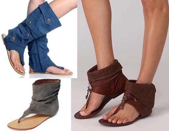 з чим носити літні чоботи