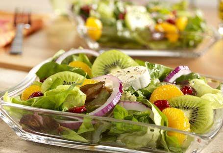 салат зі шпинату