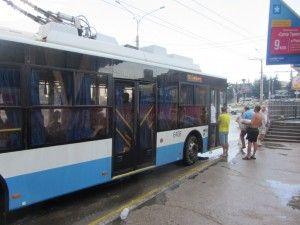 алушта в Сімферополь на тролейбусі.
