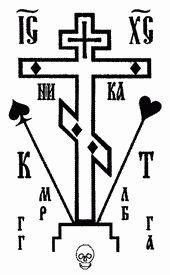 Сатанинський характер символіки карткових мастей