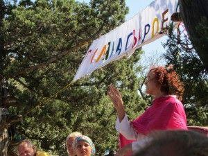 Брітаріанка викладає в Криму, солнцееденіе в Україні у Криму