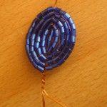 Плетемо пелюстки для братків з бісеру