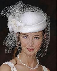 капелюх з вуаллю