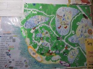 Карта мису Сарич.