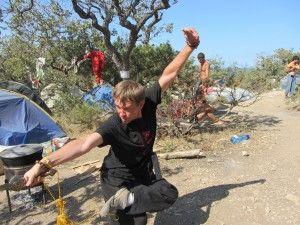Тренування в літньому таборі в Криму.
