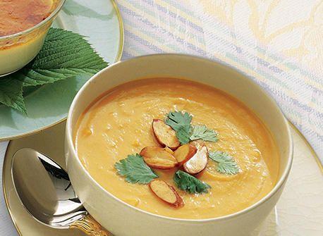 солодкий картопляний суп з імбиром