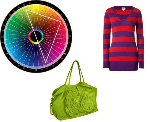 поєднання трьох кольорів в одязі