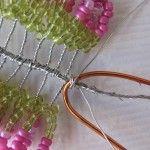 Майстер-клас плетіння вересу з бісеру з переходом кольору