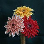 Бісероплетіння квітки гербери