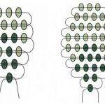 Паралельне плетіння овального листа