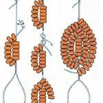 Схема плетіння дугами