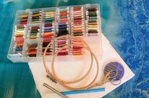 Інструменти для вишивки хрестиком
