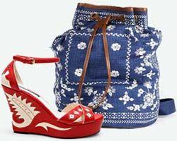 поєднання сумок і взуття