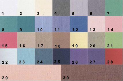 палітра кольорів для світлого колориту