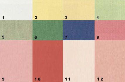 палітра кольорів для світлого теплого колориту