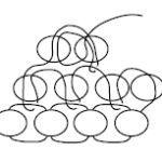 Сережки з бісеру в техніці цегляного плетіння