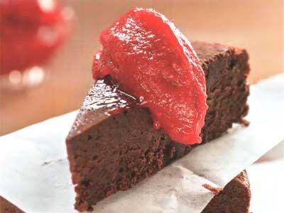 торт шоколадний трюфель