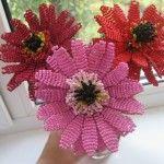 Квіти з бісеру паралельним плетінням