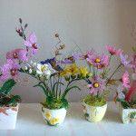 Квіткові композиції з бісеру