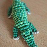 Майстер-клас з плетіння крокодила з бісеру