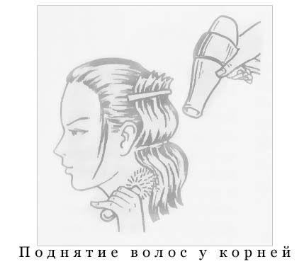 підняття волосся біля коріння