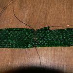 Майстер-клас з плетіння листя орхідеї з бісеру