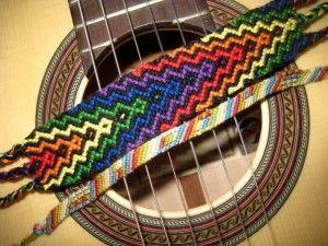 Фенечки прямого плетіння