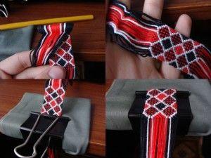 Підготовка до процесу плетіння фенечек з ниток