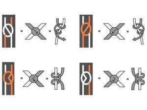 Основні види вузлів для плетіння фенечек
