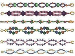 Варіанти плетіння фенечек з бісеру