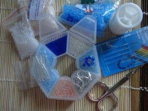 Необхідні матеріали для початку роботи з вишивкою бісером