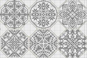 Схема для вишивки квакера