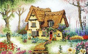 Вишитий будинок