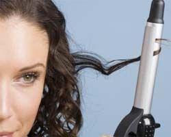 як завити волосся електрощіпци