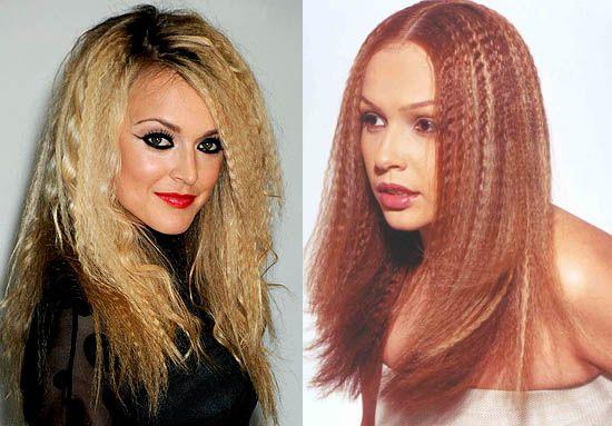 гофрування волосся