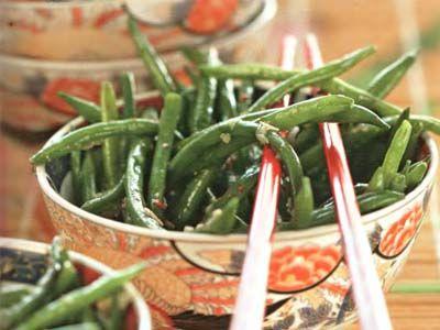 зелена квасоля в китайському стилі